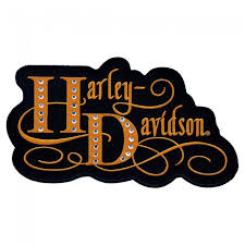 harley davidson harlequin rhinestone patch harley davidson patches