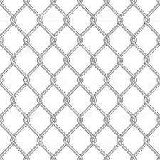 chain link fence texture. Seamless Chain Link Fence Background. Royalty-free Background Stock Vector Texture E
