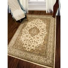 home dynamix bazaar trim ivory 5 ft x 7 ft indoor area rug