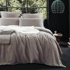 french linen bedding uk pure pillowcase mocha