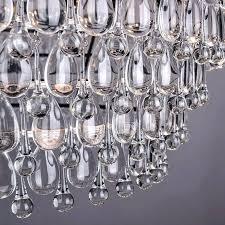 restoration hardware crystal chandelier lovely retro glass drops led crystal chandeliers lamp for dining for restoration