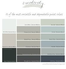 15 of the most versatile and dependable paint colors all star colors that always work