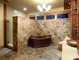 rustic stone bathroom designs. Interesting Bathroom Design Ideas Using Stone And Charming Rustic  Abpho Rustic Stone Bathroom Designs D