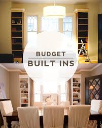 Shelves Around Window Keep Smiling Diy Dining Room Built Ins
