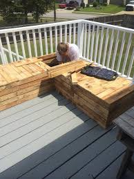 diy outdoor pallet sectional. DIY Outdoor Furniture Pallet Sectional Couch Sofa Outside Deck Guest Company People Hosting Events Do It Diy L