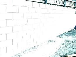 cinder block retaining wall build