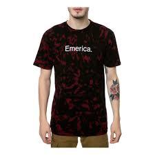 Emerica Size Chart Emerica Mens Pire Emerica 12 1 Dye Graphic T Shirt