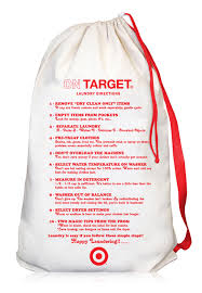 Laundry Bag Target Fascinating Target Canvas Laundry Bag With Directions LBU