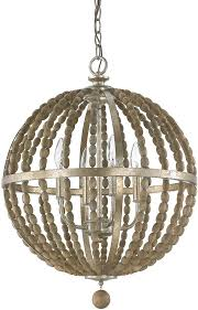 capital lighting 4794tz lowell modern tuscan bronze with wood beads hanging light fixture loading zoom