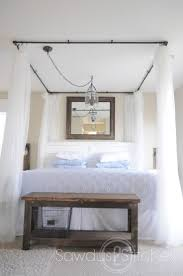 Diy Bed Canopy Best 25 Bed Canopy Lights Ideas On Pinterest Girls Canopy Beds