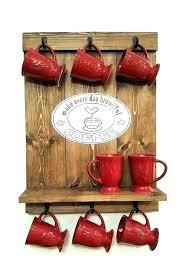 Coffee Cup Display Stands Classy Coffee Mug Display Shelf Mug Rack Wall Coffee Mug Holder Coffee Mug