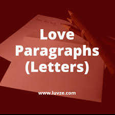 love paragraphs