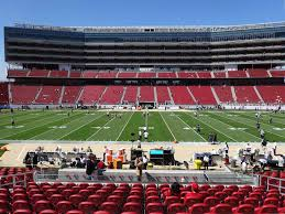 Levis Stadium View From Section 115 Vip Vivid Seats