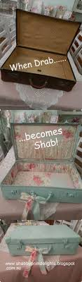 pink shabby chic furniture. 11vintage suitcase makeover pink shabby chic furniture