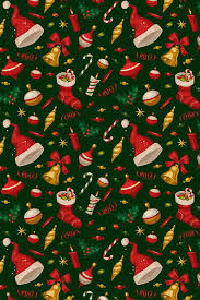 Christmas Pattern Wallpaper