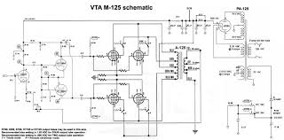 vta m 125 mono blocks audiokarma home audio stereo discussion forums photo of the m 125 s internal wiring is below