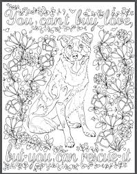 Small Picture De stress With Dogs Downloadable 10 Page Coloring Book for Adults