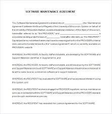 Development Contract Example Website Support Template