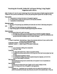 essay on the scientific method scientific method essay