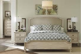 Demarlos California King Panel Bed; living spaces | Master Bedroom ...