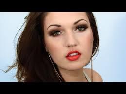 blair waldorf gossip fall makeup orange lips trend