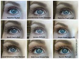in this parison of top mascaras i include a brief review of each and then you can decide for yourself which one looks the best