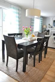 dining room dining room white square rugs for with wooden table alluring design best size rug