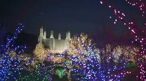 Mormon Tabernacle Washington Dc Christmas Lights Festival Of Lights Washington Dc