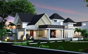 Fashionable design ideas 12 house plans with hip roof styles modern art deco home visualized in two