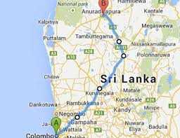 Sri Lanka Bus Route 15 From Colombo Fort To Anuradhapura