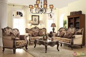 living room antique style wing back sofa love seat french provincial living room set antique style living room furniture
