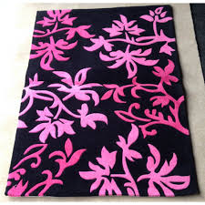 amazing design pink and black rug modern decoration gy pink rug