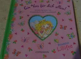Prinzessin Lillifee Ein Vers Für Dich Allein Schöne Sprüche Fürs