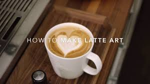 How To Make Designs In Coffee Foam How To Make Latte Art At Home