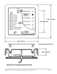 dimension drawing actual size hid serial proxpro reader dimension drawing actual size hid serial proxpro reader installation guide user manual page 7 10