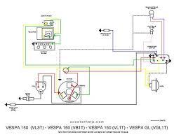 scooter help vespa 150 (vb1t) Vespa Wiring Diagram click image to download a pdf file vespa wiring diagram free