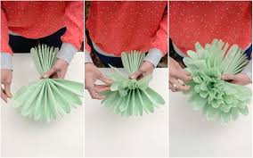 How To Make A Flower Out Of Tissue Paper Step By Step Diy Tissue Paper Flowers Project Nursery