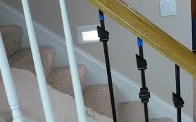 replace stair railing. Replacing Wooden Stair Balusters (Spindles) With Wrought Iron-p1010278.jpg Replace Railing I