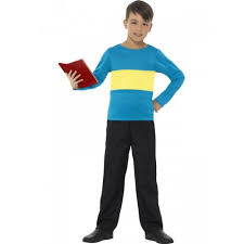 blue and yellow jumper
