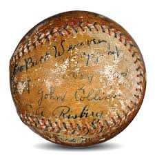 lot detail historic chicago white sox signed baseball  lot detail historic 1920 chicago white sox signed baseball six of the eight black sox including joe jackson psa dna and jsa