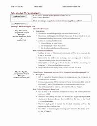 Technical Writer Resume Examples Best Of Business Intelligence Resume Sample New Technical Writer Resume