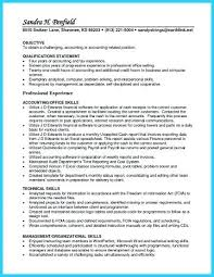Top Skills For Resume Classy Accounts Receivable Resume Templates Accounts Receivable Resume
