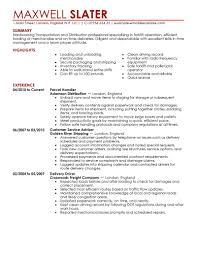 Transportation Resume Examples Transportation Resumes Savebtsaco 2