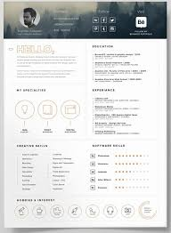 Self Promotion Resume Template Psd Website With Photo Gallery Best
