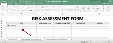 How To Use A Risk Assessment Matrix With Template