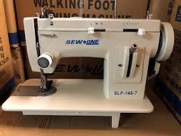techsew 1660 leather walking foot industrial sewing machine for