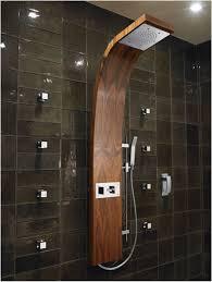 bathroom rain shower ideas modern stainless steel round head shower rectangle white modern vanity sink white