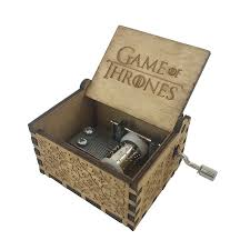 Engraved Wooden Music Box Game Of Thrones Game of Thrones New Handmade Engraved Wooden Music Box crafts 15