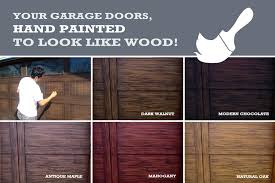 can you paint a garage door exterior faux wood garage door cost stylish on intended paint can you paint a garage door