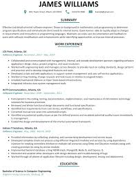 Ideas Of Computer Developer Resume Example Perfect Inspirational
